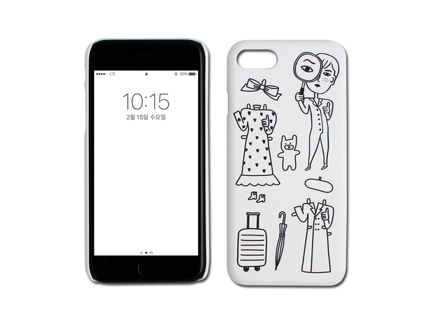 MAGGIE PAPER DOLL IPHONE 7 SNAP CASE