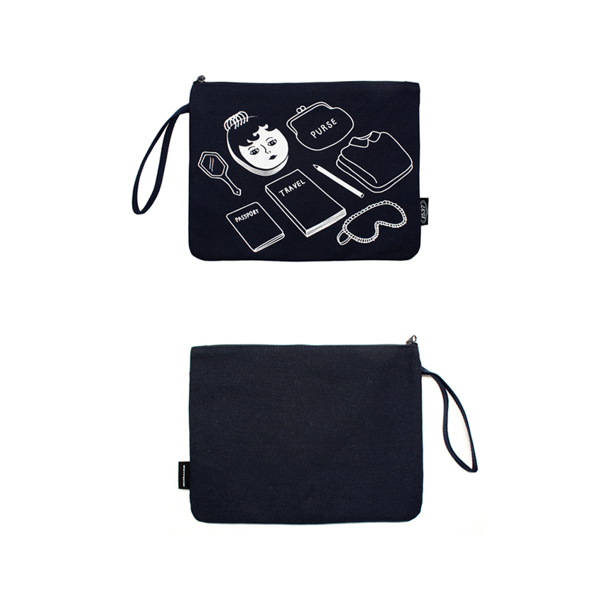 MY THINGS NAVY SECOND BAG