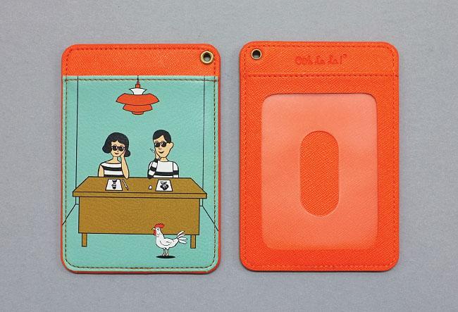 TABOM DESK CARD POCKET