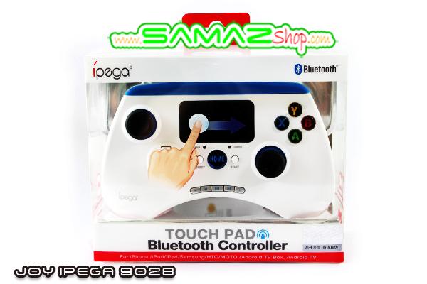 ราคาพิเศษ !! Joypad Wireless Game Controller IPega PG 9028 ของแท้ เชื่อมต่อผ่าน Bluetooth มาพร้อมตัว touch pad จอยเกมมือถือ คอนโทรลเลอร์ระบบ ไร้สาย รองรับทั้ง IOS และ Andriod ออกแบบมาเพื่อคอเกมโดยเฉพาะ