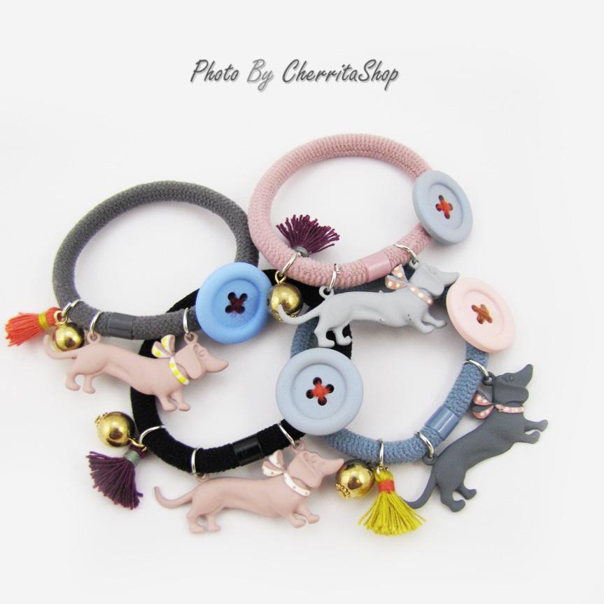 เลือกสีด้านในค่ะ รัดผม Puppies Korea Style HR632