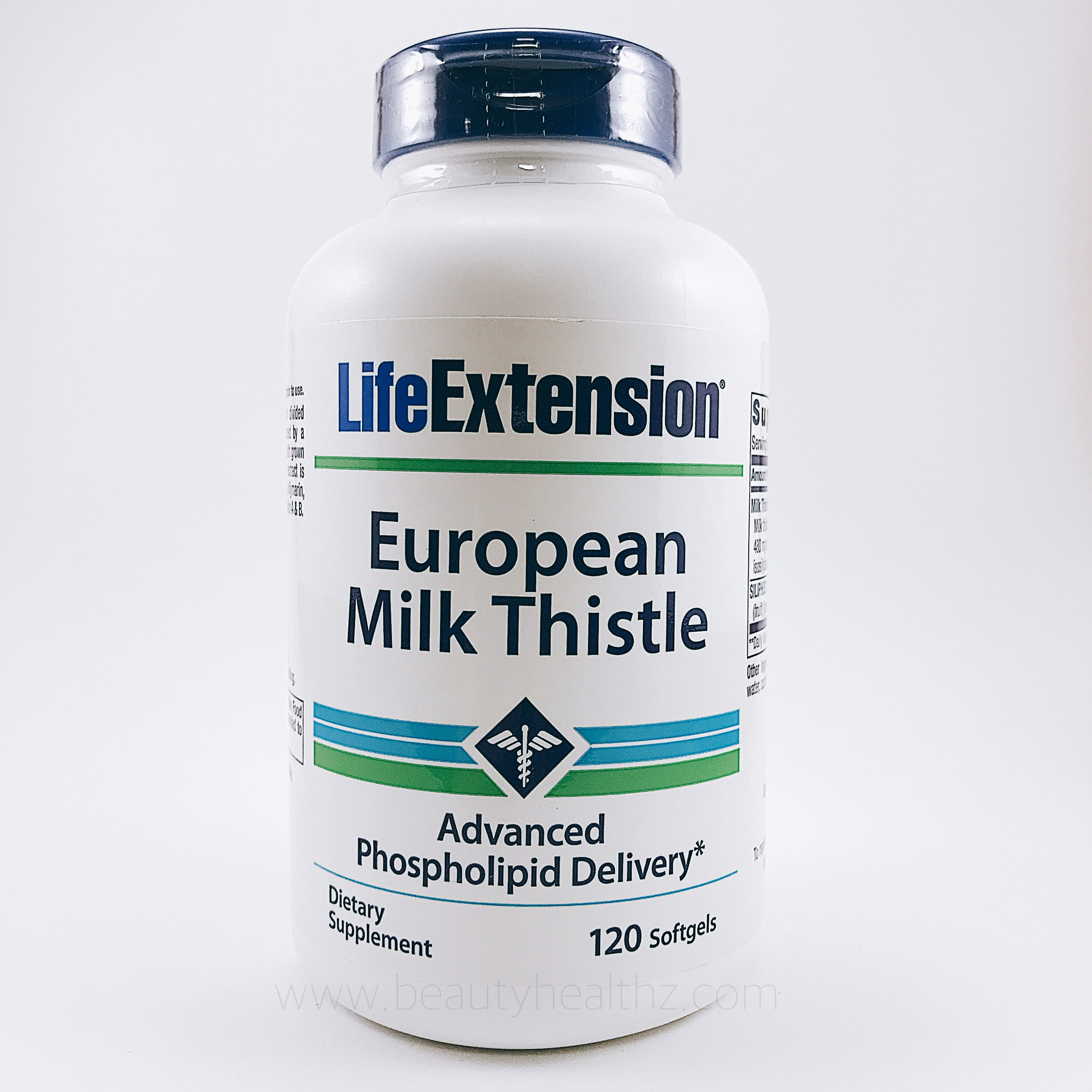 Life Extension, European Milk Thistle, 120 Softgels