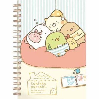 สมุด Sumikko Gurashi (ชุดนอน)