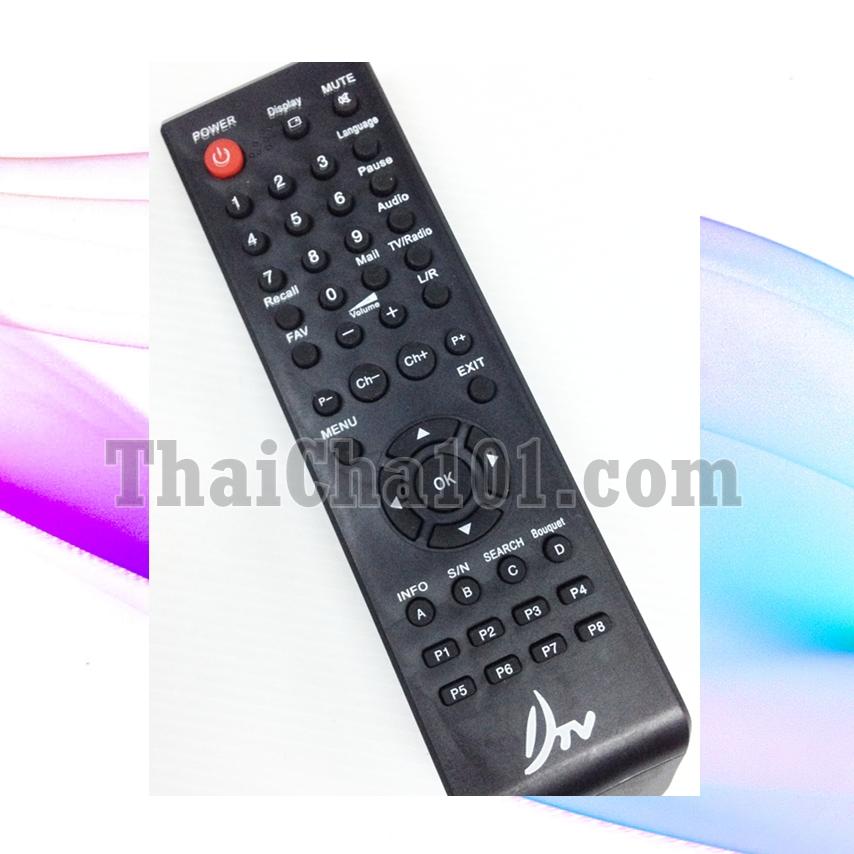 รีโมทDTV เครื่องสีดำ