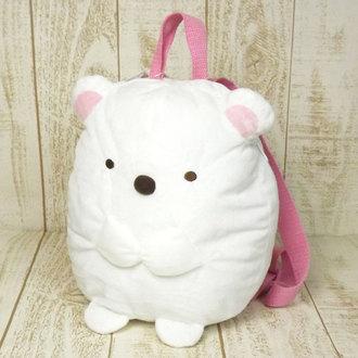 กระเป๋าสะพายนุ่มนิ่ม Sumikko Gurashi หมีขาว